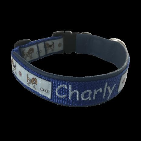 beaglehalsbandblau