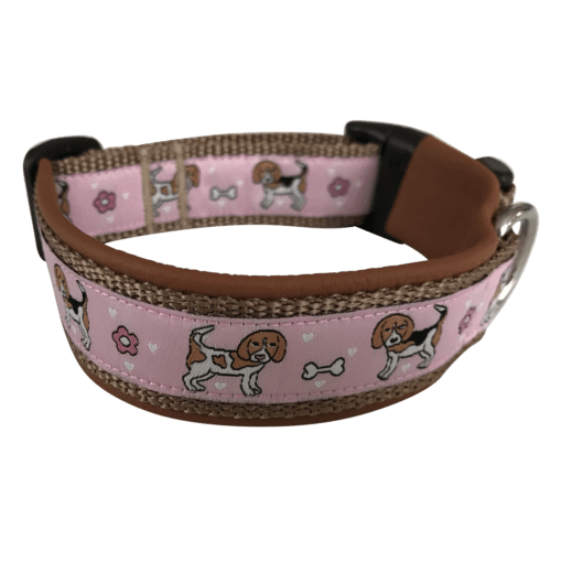 beaglehalsbandrosabraun