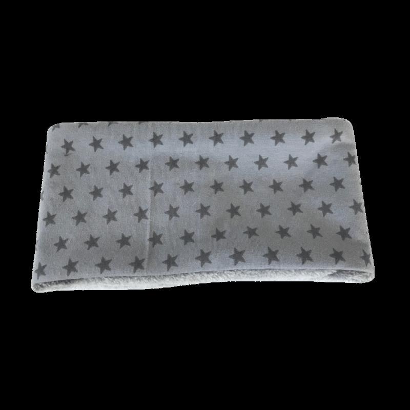 Hundehalssocke Sterne grau ❤️ Beagletuff - Rund um den Hund