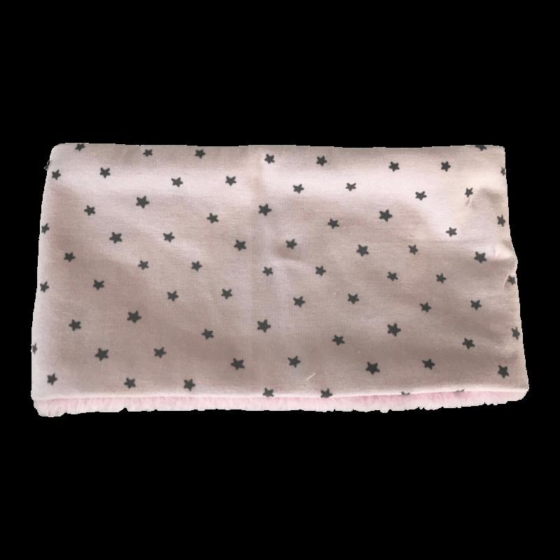 Hundehalssocke rosa Sternchen grau ❤️ Beagletuff® - Rund um den Hund