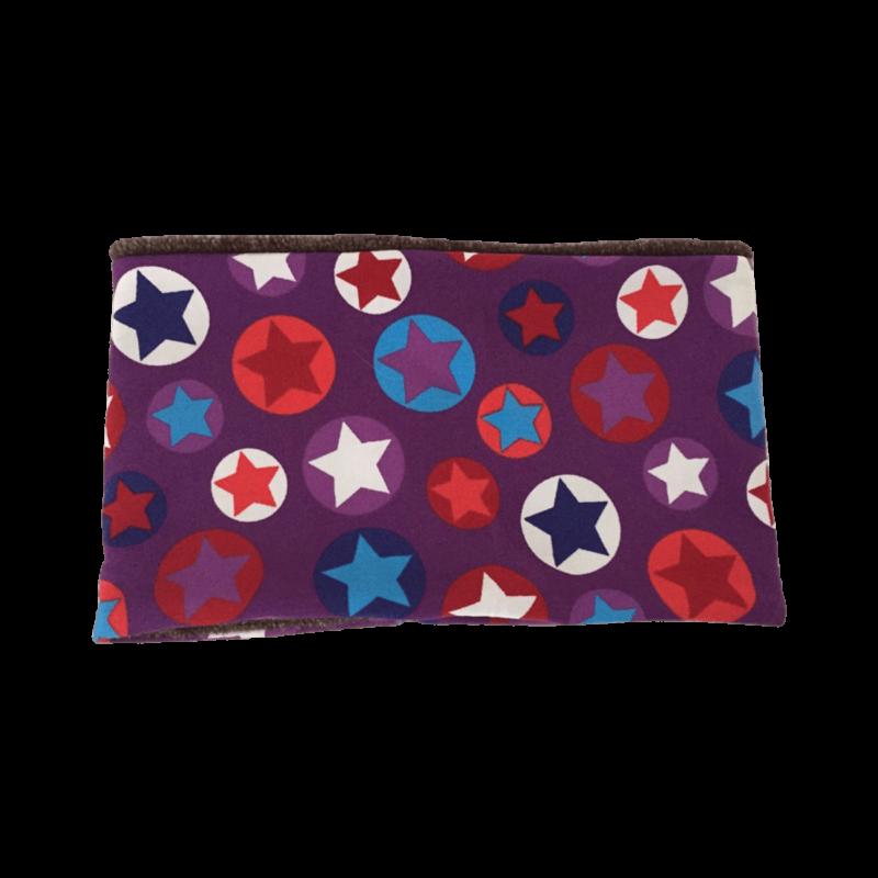 Hundehalssocke lila Sterne ❤️ Beagletuff - Rund um den Hund