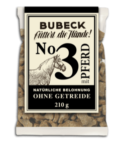 Bubeck - No. 3 mit Pferd - getreidefrei - Hundekuchen ❤️ Beagletuff - Rund um den Hund