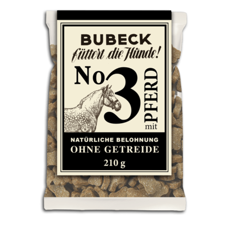 Bubeck - No. 3 mit Pferd - getreidefrei - Hundekuchen