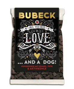 The dark side of Bubeck - Hundekuchen mit Dinkel & Aktivkohle