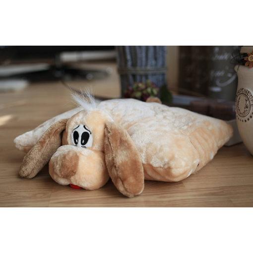 Knuffelwuff Hundespielzeug Knuffi 2in1 Hund Plüsch 35 cm