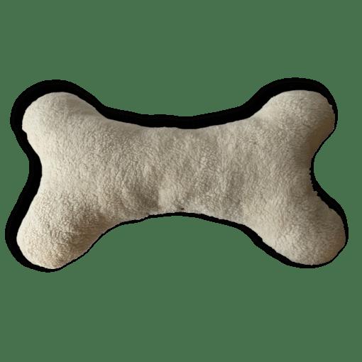 XXL Knochenkissen beige Pfötchen Love my dog