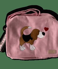 Canvastasche klein rosa Beagle Kollektion Lotti Sofortkauf