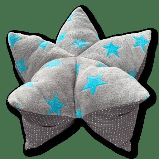 Mini Sternenkissen grau Pfoten schwarz weiß Sofortkauf