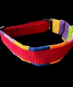 Halsband rot/bunt BT EasyWalk 42,5-51cm Sofortkauf